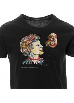 T-shirt Campovolo Unisex - bianca