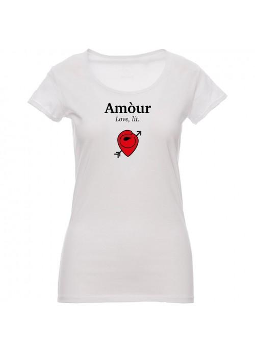 """T-shirt """"Lucchetto"""" Unisex Grigio"""