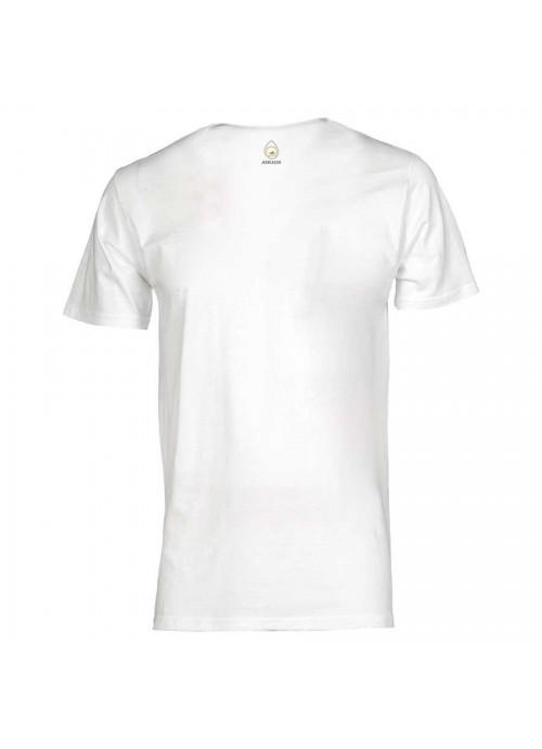 """t-shirt donna POOH """"Borchiette"""" Blu"""