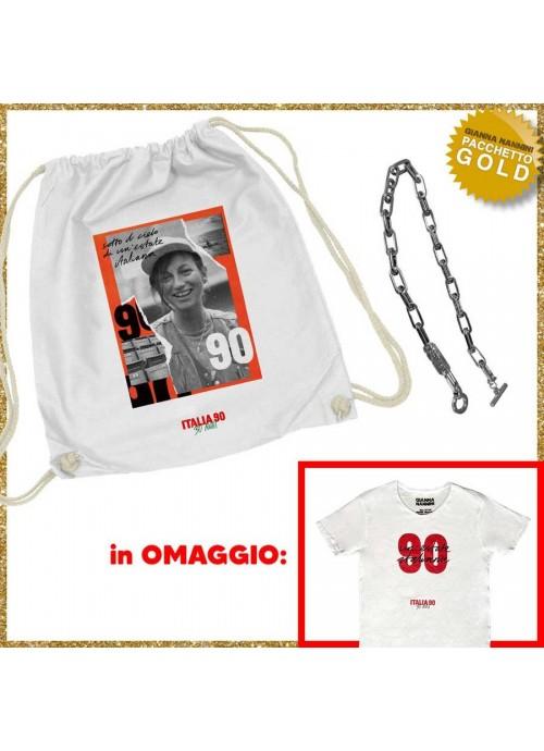 """T-shirt donna POOH """"borchiette"""" GRIGIA"""