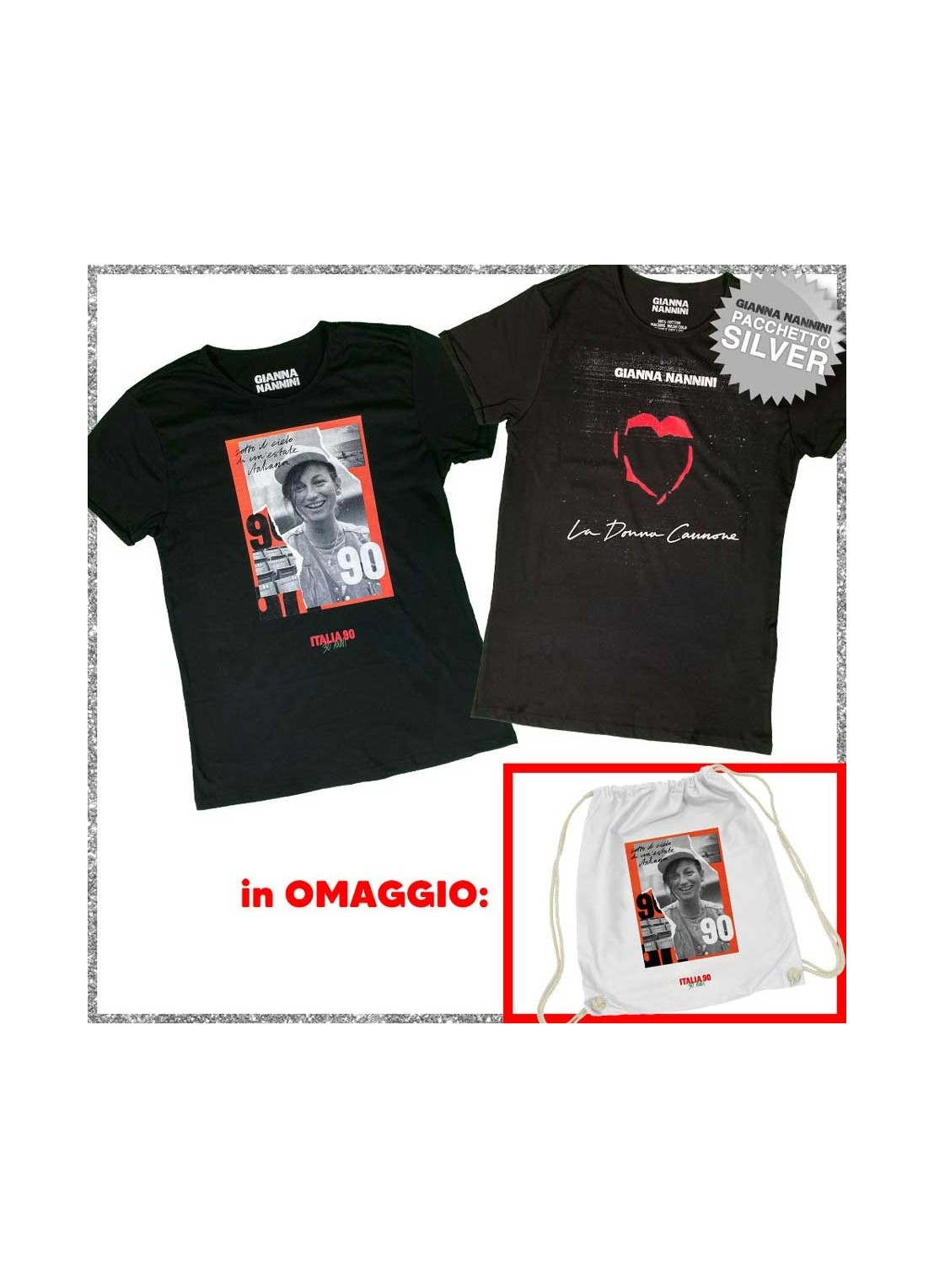 t-shirt LIGA ROCK PARK nera - unisex