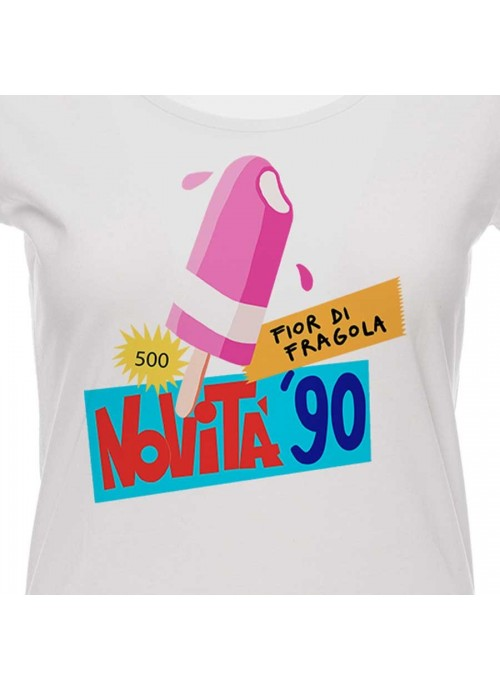 T-shirt Primo Piano unisex bianca