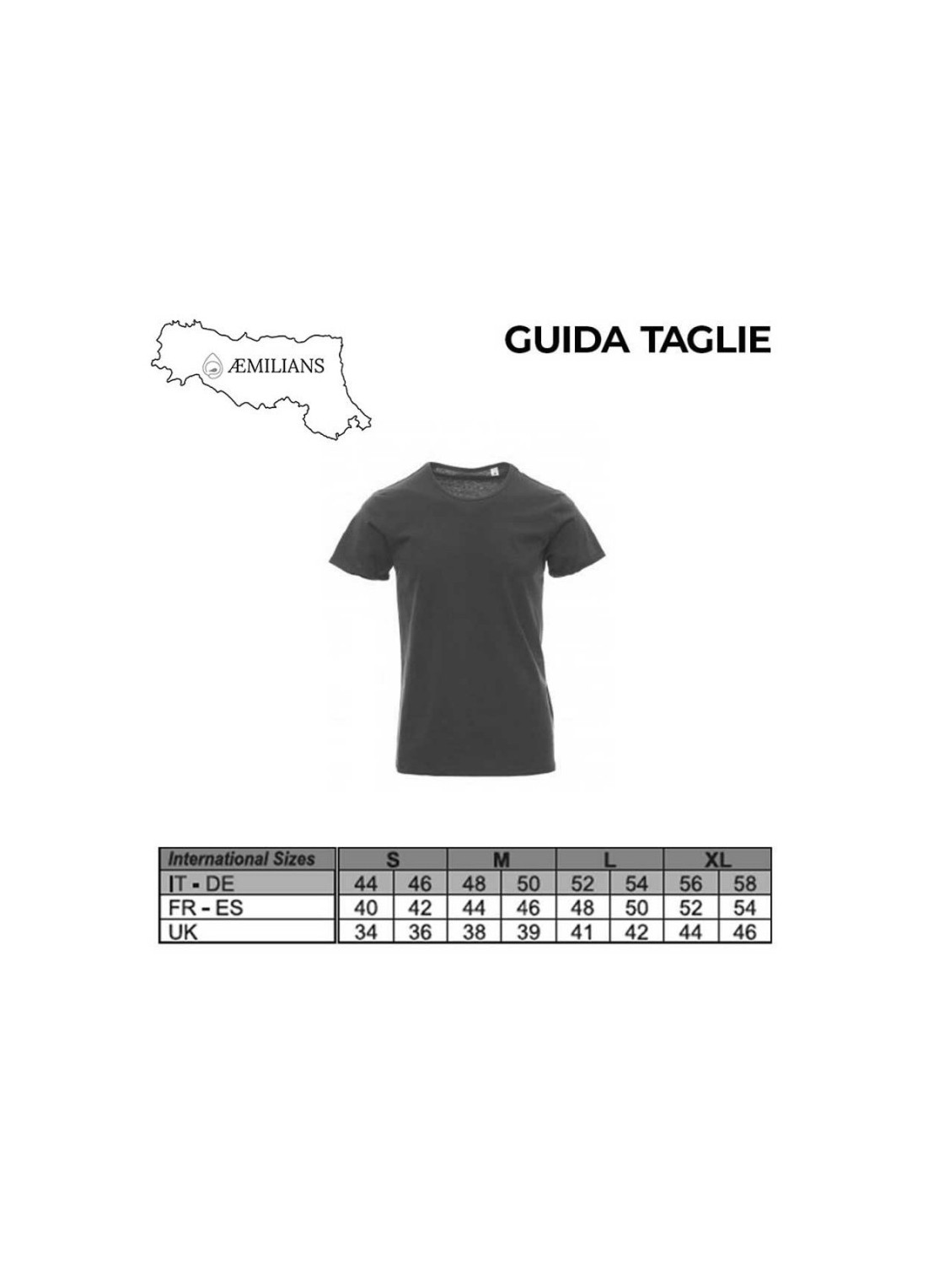 T-shirt Campionato italiano unisex bianca