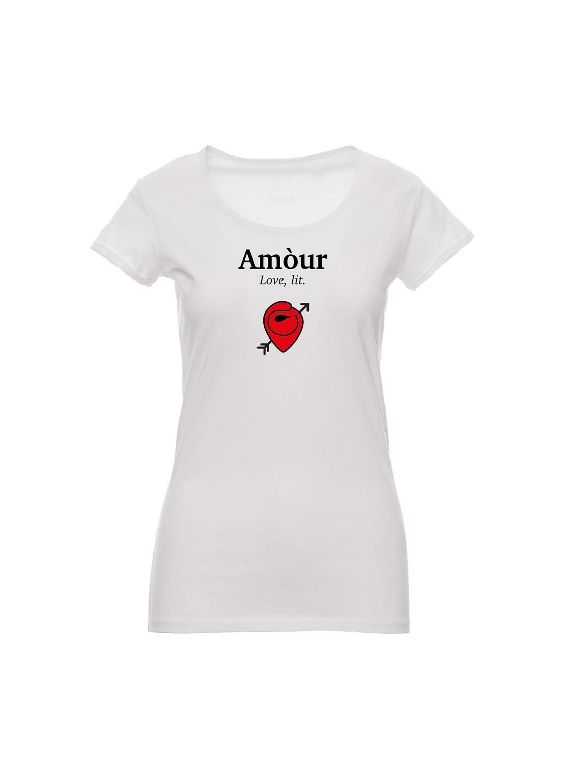 t-shirt cornucuore nera - unisex