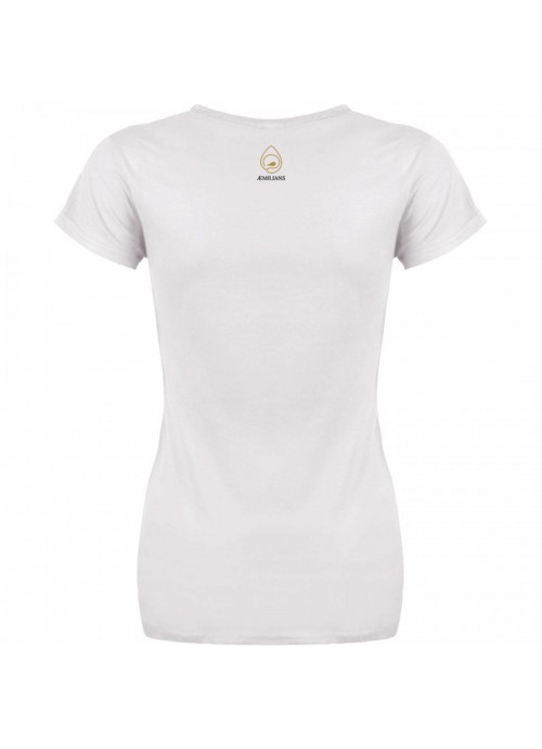 t-shirt cornucuore nera - donna