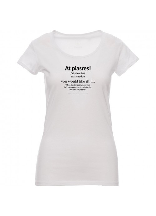 T-shirt MAGELLANO bianca donna