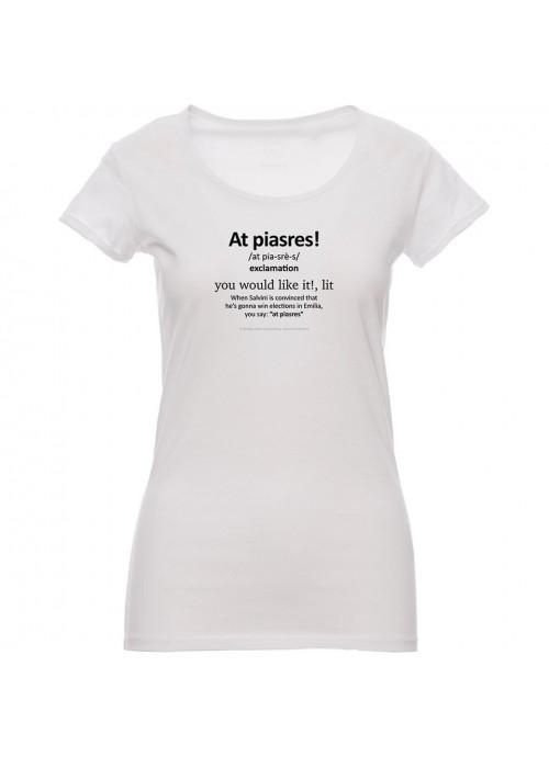 T-shirt MAGELLANO nera donna