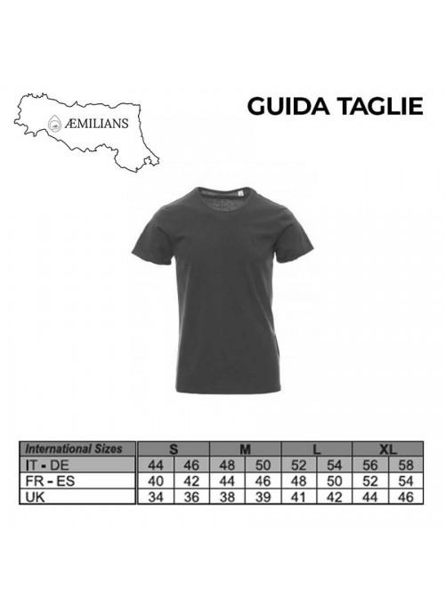 T-shirt CAMPOVOLO 2055 nera unisex