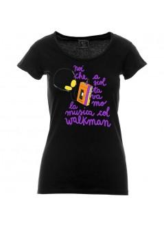 """T-shirt """"DAG de GAS"""" unisex nera"""