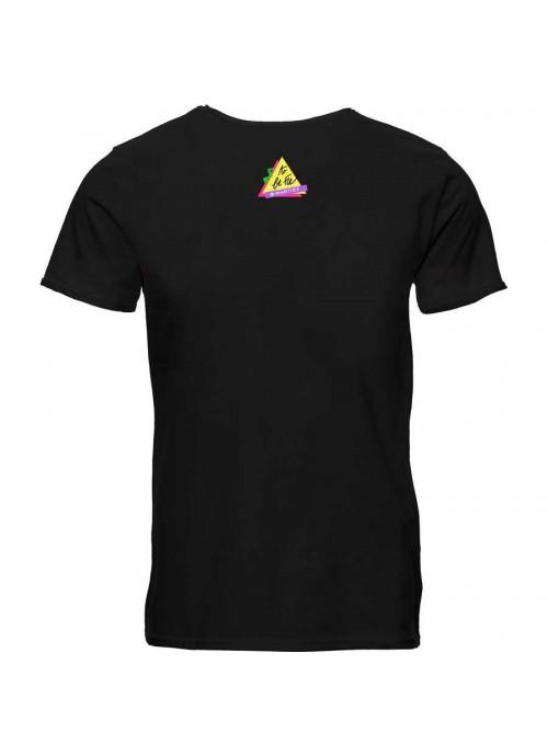 "T-shirt ""Non voglio mica la luna""  - unisex bianca"