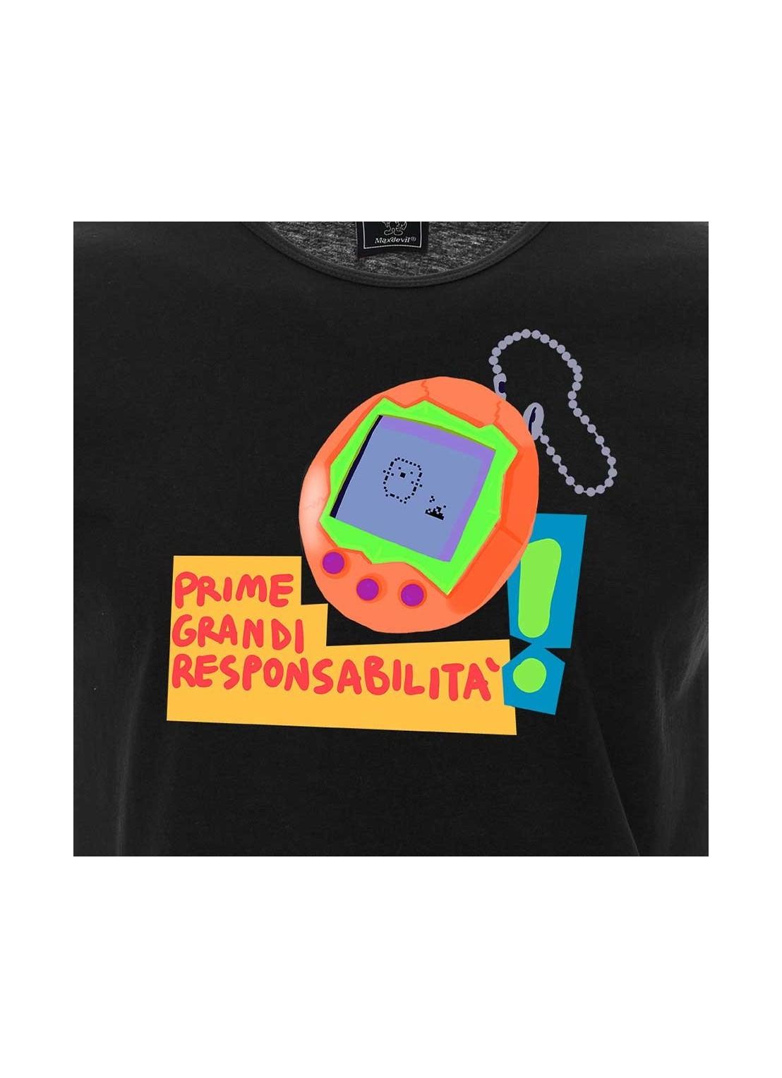 "T-shirt ""Io non mi sento italiano""  - unisex bianca"