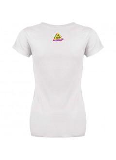 """T-shirt """"In vacanza da una vita""""  - unisex bianca"""