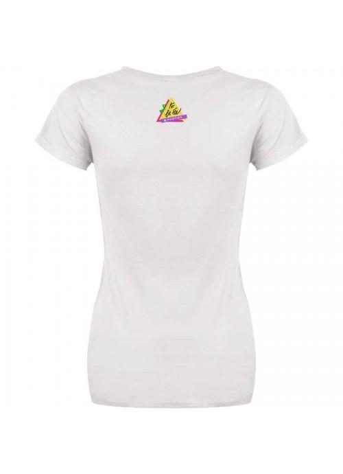 "T-shirt ""Lascia che io sia"" unisex bianca"