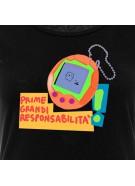 "T-shirt ""Il volume delle tue bugie"" unisex bianca"