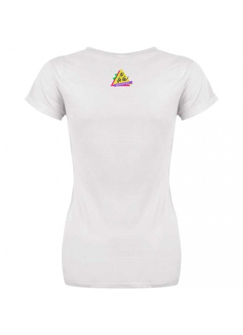 """T-shirt """"Sono sempre i sogni"""" unisex bianca"""