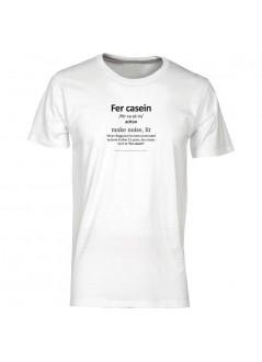 "T-shirt ""I ""ragazzi"" sono in giro"" unisex nera"