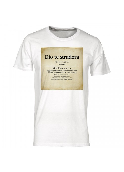 """T-shirt """"Non mi avete fatto niente"""" unisex nera"""