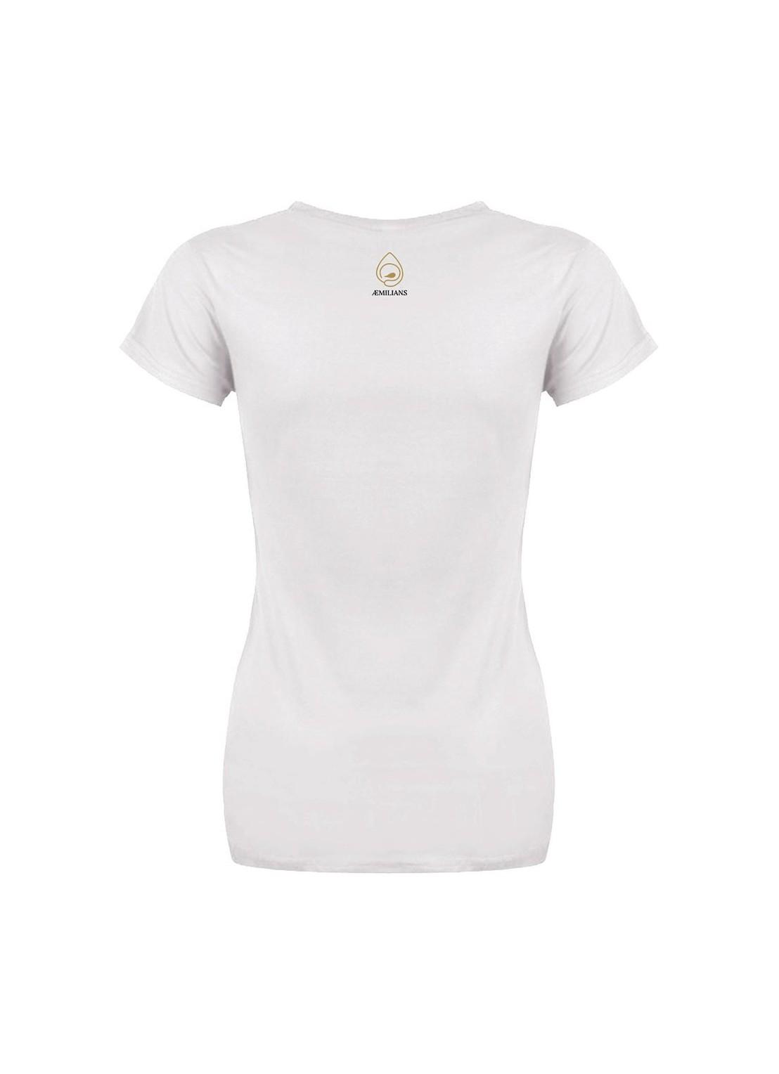 """T-shirt """"Ragazza paradiso"""" unisex bianca"""