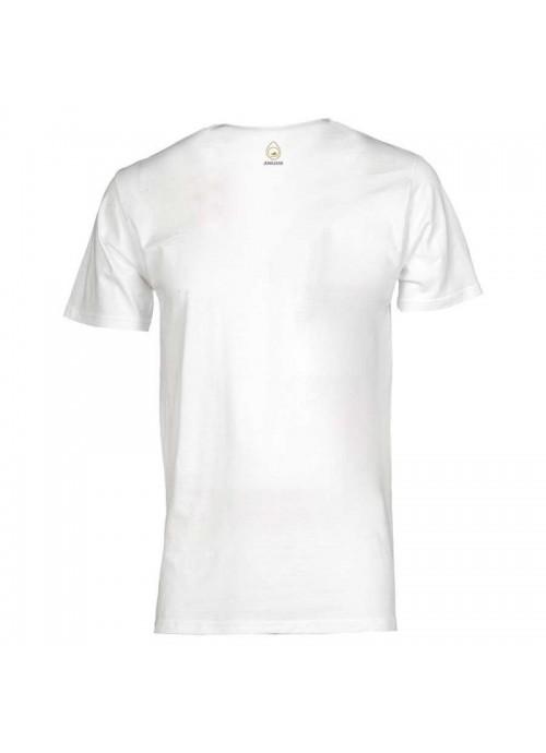 """T-shirt """"Vietato morire"""" unisex bianca"""