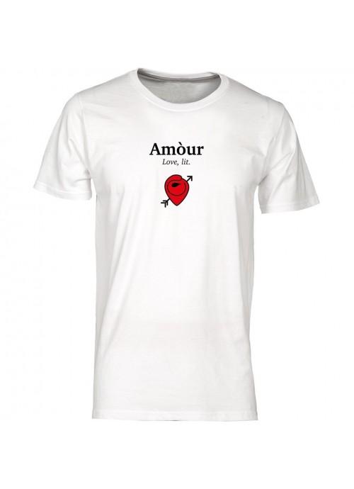 T-shirt Locandina unisex nera