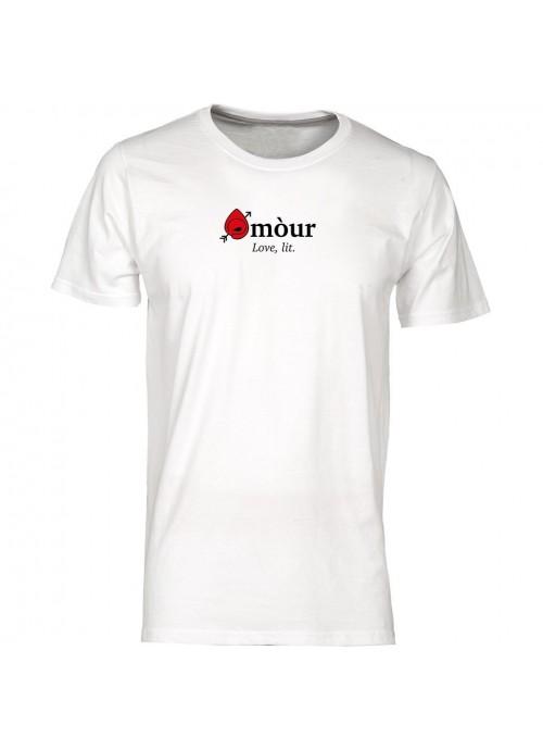 T-shirt Mondo nera unisex