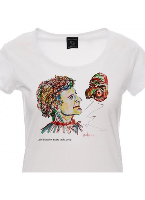 T-shirt SBAM nera unisex