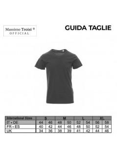 T-shirt Claudio Baglioni strass nera donna