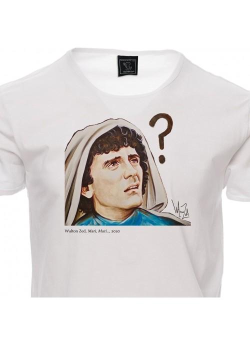 T-shirt STACCATA unisex bianca
