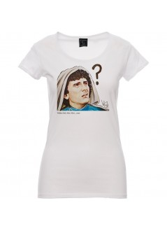 T-shirt TIENI APERTO unisex nera