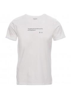 T-shirt PIEGA unisex nera