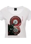 t-shirt Lorenzo Live 2018 nera donna