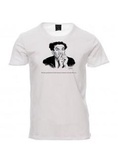 T-shirt SBAM! bianca unisex
