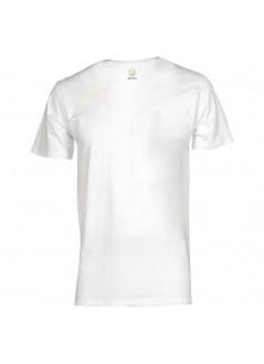 "t-shirt unisex locandina ""Jova Beach Party"" - bianca"