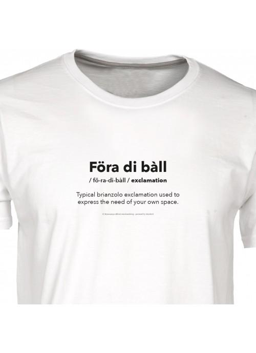 "T-Shirt ""A tal Deg"" - Pergamena"